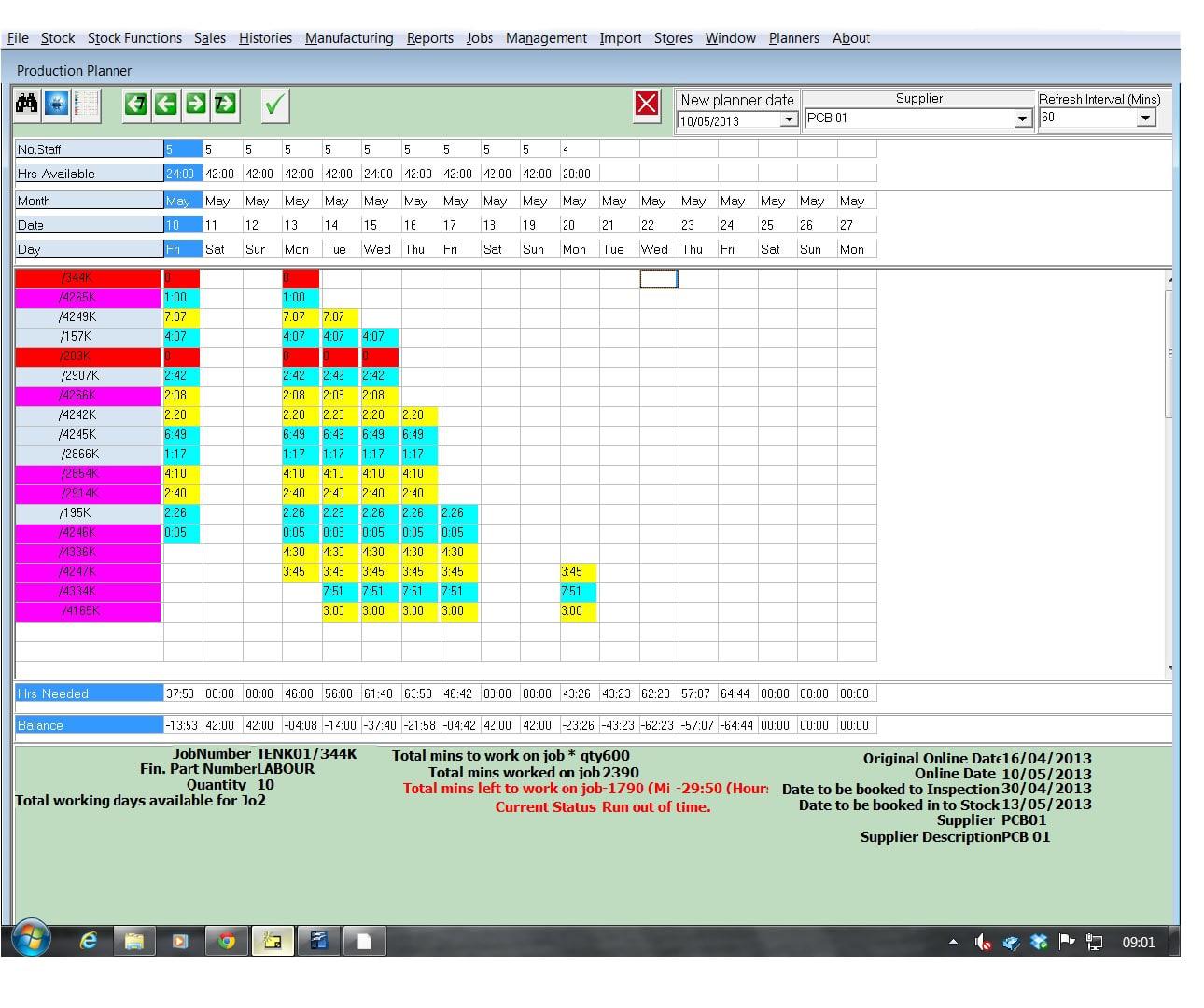 planner screen 1
