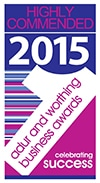 Highly Commended - Adur & Worthing Business Awards