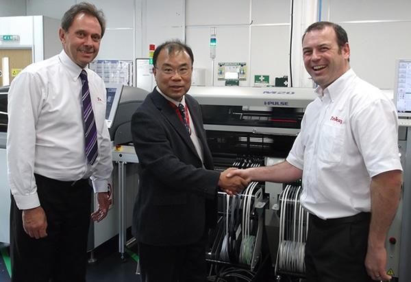 Mr Kawasaki visits Tenkay