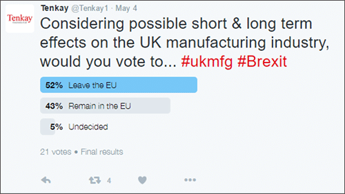 Brexit Twitter Poll